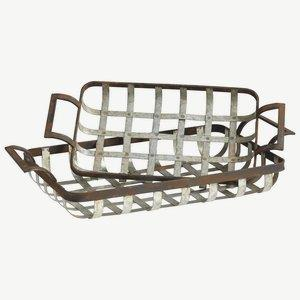 Waffle - Tray - 25.25 Inches Wide by 4.5 Inches High