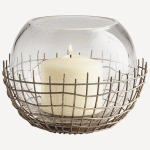 "Silk - 6.25"" Medium Candleholder"