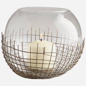 Silk - 8 Inch Large Candleholder