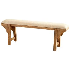 51.5 Inch Gable Bench