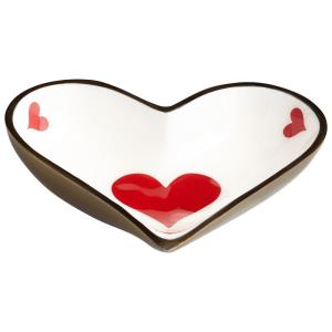 Heart Tray - 5.75 Inches Wide by 1.25 Inches High