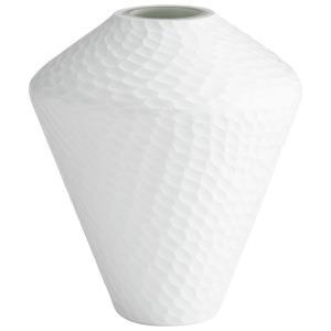 11.5 Inch Small Buttercream Vase