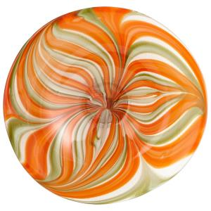 Small Chika Plate - 16 Inches Wide by 3.75 Inches High