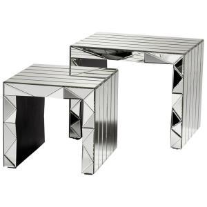 "25"" Prism Nesting Tables"