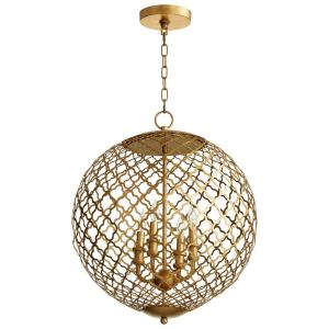 Skyros - Four Light Pendant