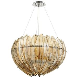 Aerie - Nine Light Large Pendant - 28 Inches Wide by 18.5 Inches High