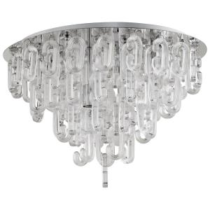 Centaurus - Four Light Flush Mount - 23 Inches Wide by 16.5 Inches High