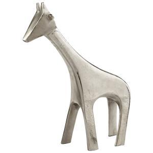 "15.25"" Large Nickel Neck Sculpture"