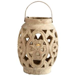 9.5 Inch Small Filigree Flame Candleholder