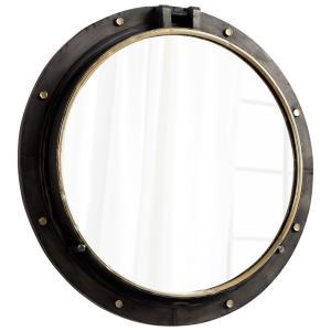 """Barrel - 29.5"""" Round Mirror"""