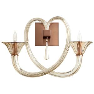 Amore - Two Light Wall Bracket