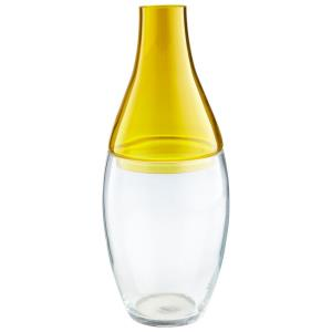 16.5 Inch Large Mellow Yellow Vase