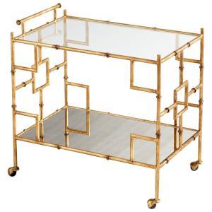 Molly Martini - 29.75 Inch Bar Cart
