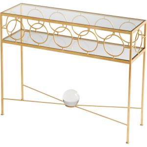 Auric Orbit - 40 Inch Console Table