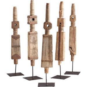 """Rustic Todem - 23.75"""" Large Sculpture"""