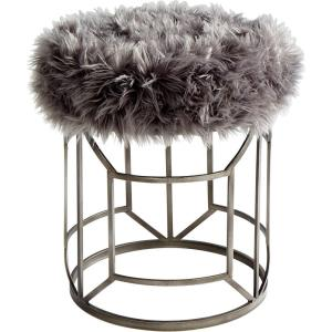 Ushanka - Stool - 19 Inches Wide by 21.75 Inches High
