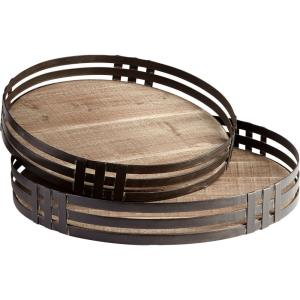 Banded About - 2.75 Inch Tray (Set Of 2)