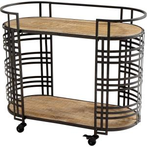 Banded About - 38 Inch Bar Cart