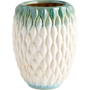 Verdant Sea - Small Vase - 6 Inches Wide by 8 Inches High