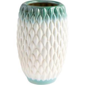 Verdant Sea - 10.25 Inch Medium Vase