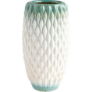 Verdant Sea - 12.75 Inch Large Vase