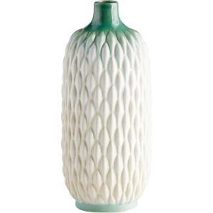 Verdant Bud Sea - 14.5 Inch Medium Vase