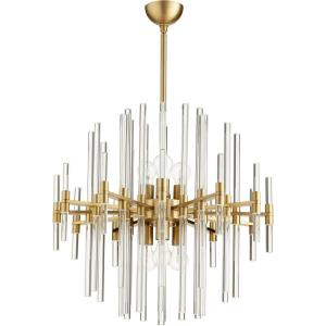 Quebec - 26.25 Inch Six Light Pendant