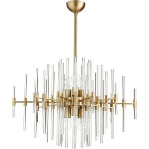 "Quebec - 30.5"" Six Light Pendant"