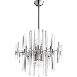 Quebec - 22.25 Inch Six Light Pendant