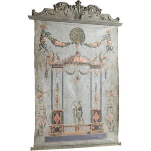 Ethereal Days - 81.25 Inch Chinoiserie