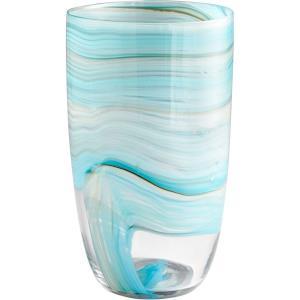 "Sky Swirl - 13.5"" Large Vase"
