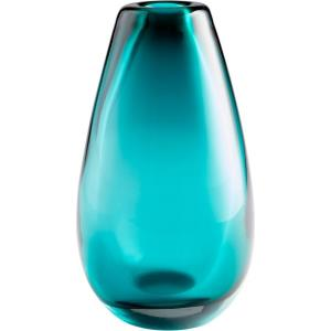 "Blown Ocean - 14.25"" Large Vase"