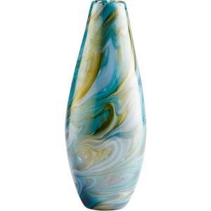 """Chalcedony - 11.5"""" Small Vase"""
