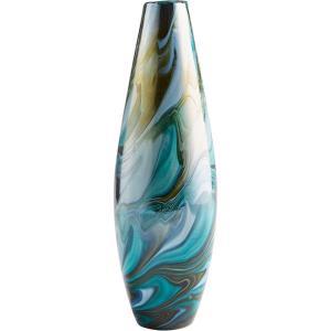 """Chalcedony - 15.75"""" Medium Vase"""