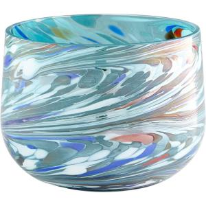 Wanaka - Small Round Vase - 6.5 Inches Wide by 5.25 Inches High