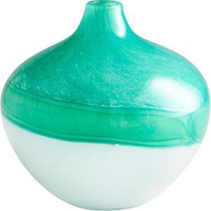 """Iced Marble - 8.25"""" Medium Vase"""