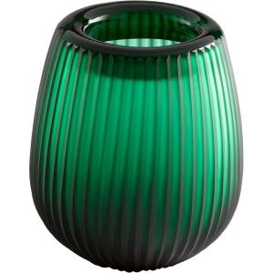 "Glowing Noir - 7"" Small Vase"