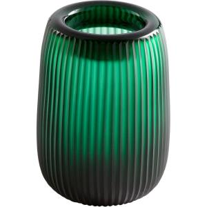 "Glowing Noir - 9.75"" Large Vase"