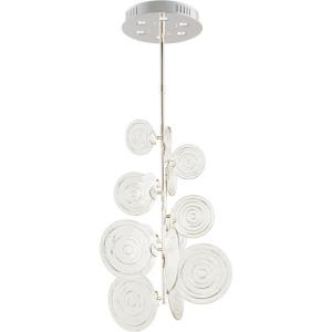 Discus - 41.75 Inch Six Light Pendant