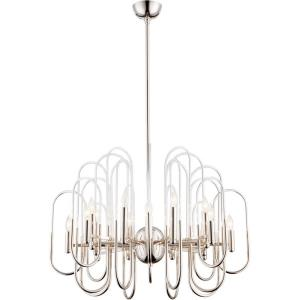 Elysees - Sixteen Light Chandlier - 30 Inches Wide by 32.5 Inches High