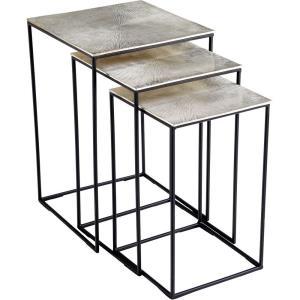 "Irvine - 24.25"" Nesting Table (Set Of 3)"