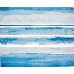 Azure Watercolor - 96 Inch X 120 Inch Rug