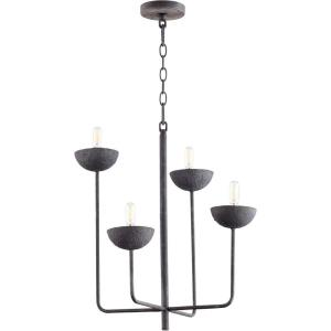 Enoki - 4 Light Chandelier - 21 Inches Wide by 19.5 Inches High