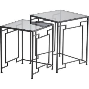 Galleria - 22 Inch Square Table (Set of 2)