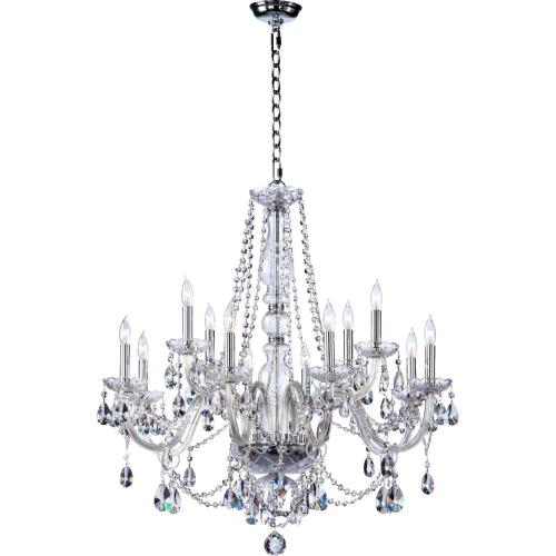 Quorum Lighting 630-12-514 Katrina - Twelve Light Chandelier
