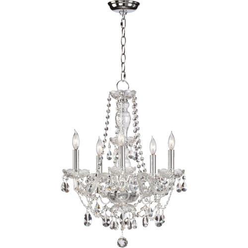 Quorum Lighting 630-5-514 Katrina - Five Light Chandelier