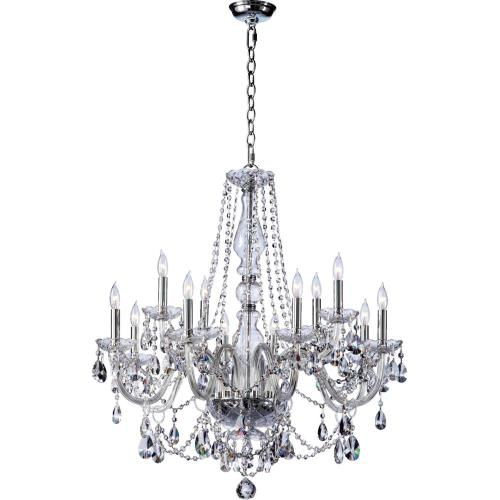 Quorum Lighting 631-12-514 Katrina - Twelve Light Chandelier