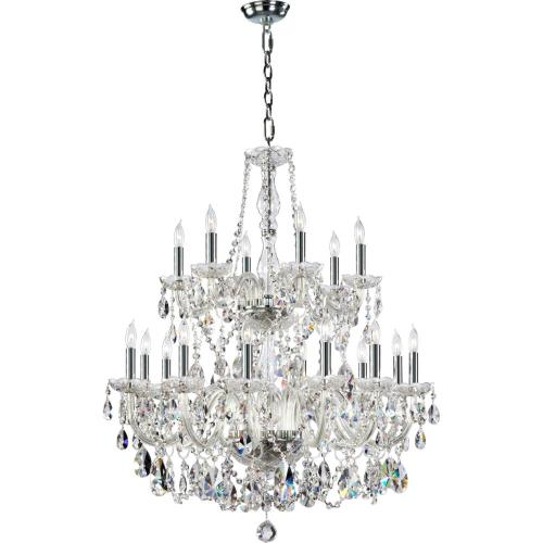 Quorum Lighting 631-18-514 Katrina - Eighteen Light Chandelier