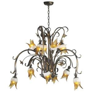 Papillion - Twelve Light Chandelier