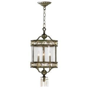 Buckingham - Three Light Pendant - 12 Inches Wide by 31.75 Inches High